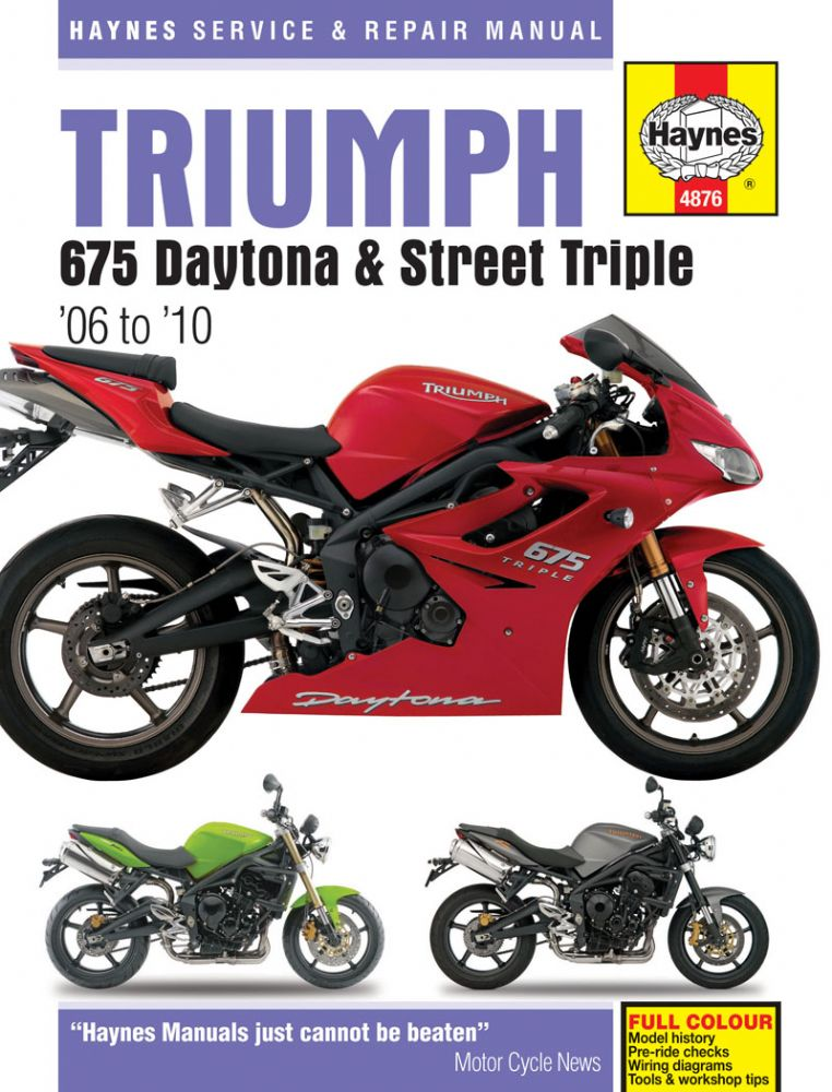 triumph daytona 675. haynes manual 7372 p[ekm]762x1000[ekm] triumph daytona 675 haynes manual Bobcat Skid Steer Electrical Diagrams at bayanpartner.co